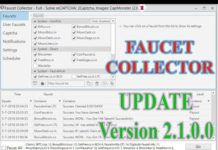 Faucet Collector Bot 2019