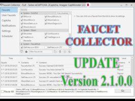 Faucet Collector Bot 2019